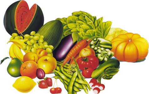 Logo fruit and vegetables